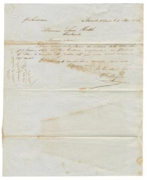 [Letter from V. E. Maignan to Ferdinand Louis Huth, March 5, 1856]