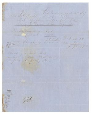 Primary view of [Letter to (Ferdinand) Louis Huth, April 16, 1857]