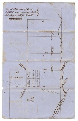 Primary view of object titled '[Map showing land ownership]'.