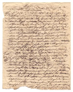Primary view of object titled '[Open letter from Huth to the people of Castroville]'.