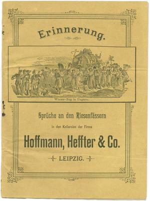 Primary view of object titled 'Erinnerung'.
