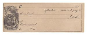 Primary view of object titled '[Promissory note]'.
