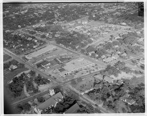 [Aerial View of Tarrytown Shopping Center]