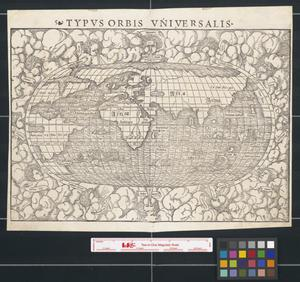 Primary view of object titled 'Typus Orbis Universalis'.