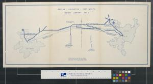 Primary view of object titled 'Dallas-Arlington-Fort Worth Midway Airport Area.'.