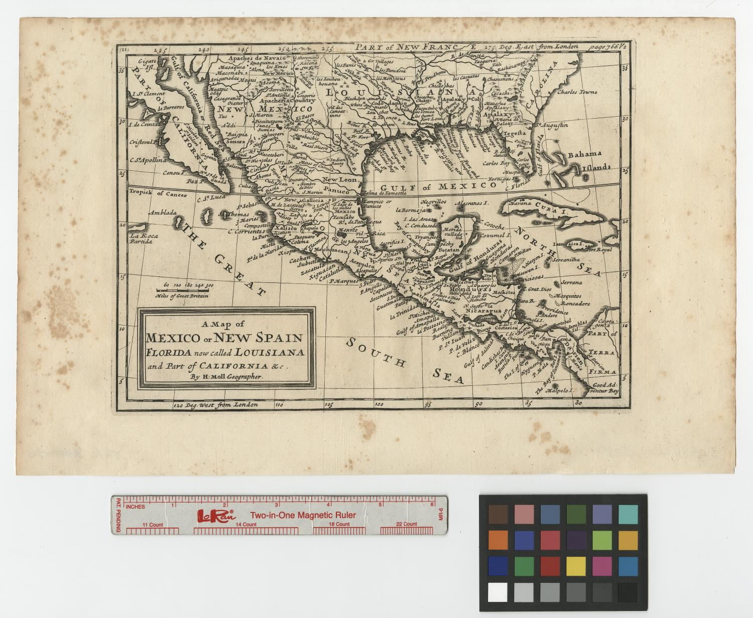 a map of mexico or new spain florida now called louisiana and