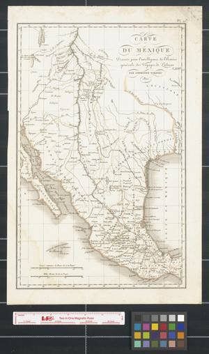 Primary view of Carte du Mexique.