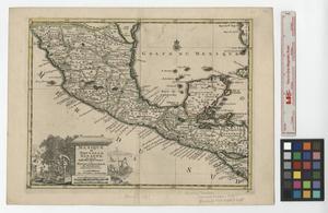 Primary view of Mexique ou Nouvelle Espagne suivant les nouvelles observations de messrs. de l'Academie Royale des Sciences, etc.