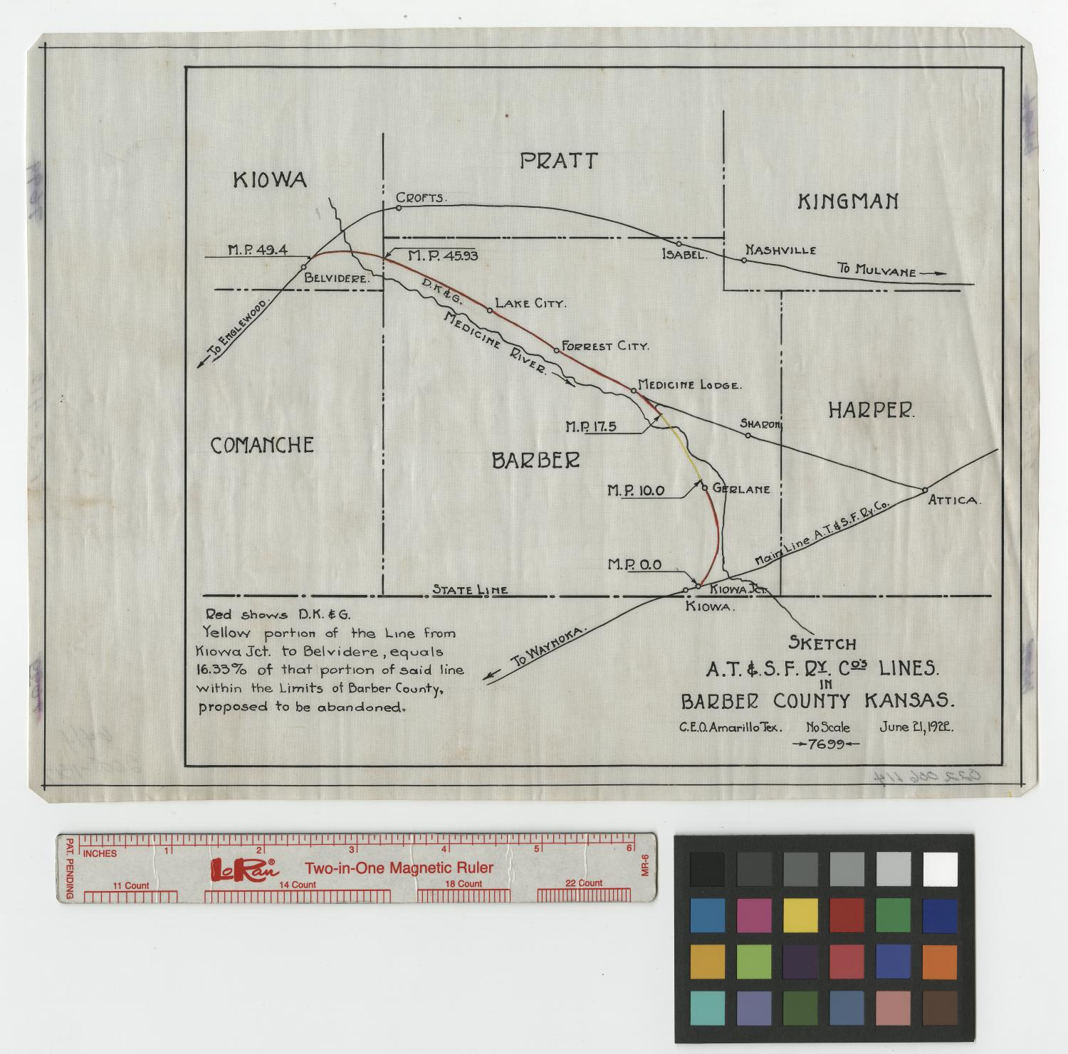 Kansas harper county attica - Co S Lines In Barber County Kansas The Portal To Texas History
