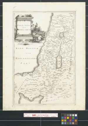 Primary view of Palestina seu Terra Sancta.