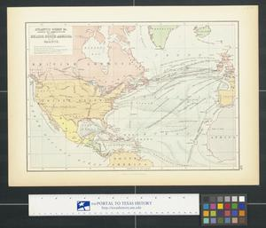 Atlantic Ocean &c. shewing [sic.] the communication between Europe, North America and the Pacific.