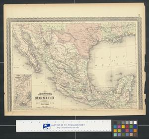 Primary view of object titled 'Johnson's Mexico.'.