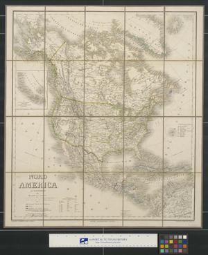 Primary view of object titled 'Nord America mit Westindien.'.