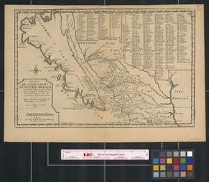 Primary view of [Carte de Californie et du Nouveau Mexique]