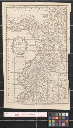 Primary view of object titled 'Map of the countries on the South Sea from Panama to Guayquil : For the Rev. Dr. Robertson's History of America.'.