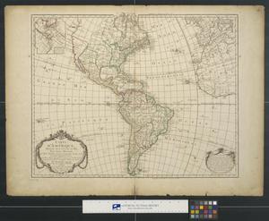 Primary view of Carte d'Amérique dressée pour l'usage du Roi.