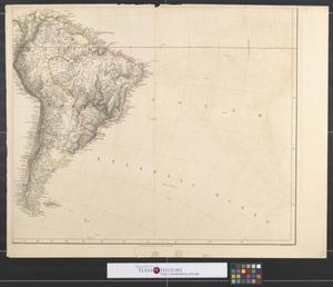 Primary view of object titled 'Map of America [Sheet 3].'.