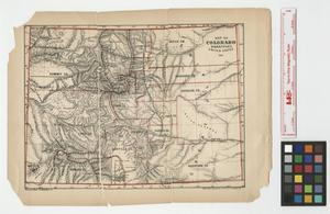 Primary view of object titled 'Map of Colorado Territory, United States.'.