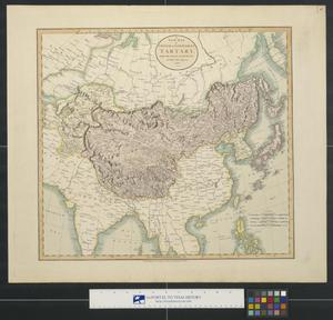 Primary view of A new map of Chinese & independent Tartary.