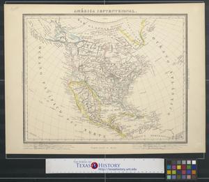 Primary view of América Septentrional.