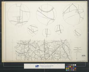 Primary view of object titled 'General highway map Nacogdoches County Texas [Sheet 2]'.