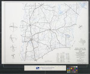 Primary view of object titled 'General highway map Robertson County Texas'.