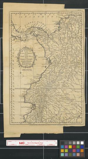 Primary view of Map of the countries of the South Sea from Panama to Guayquil [Ecuador].