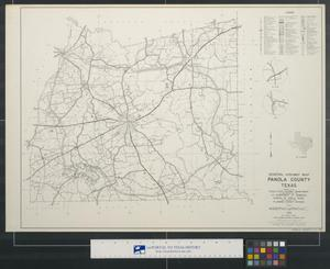 Primary view of object titled 'General highway map, Panola County, Texas.'.