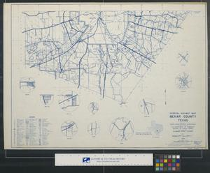 Primary view of object titled 'General highway map, Bexar County, Texas [Sheet 2]'.