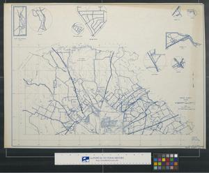 Primary view of object titled 'General highway map, Bexar County, Texas [Sheet 1]'.