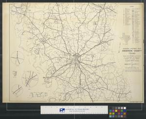 Primary view of object titled 'General highway map Anderson County Texas'.
