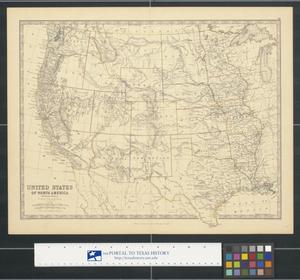 Primary view of object titled 'United States of North America (Western States)'.