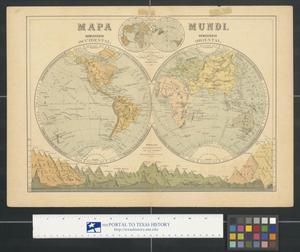 Primary view of Mapa Mundi