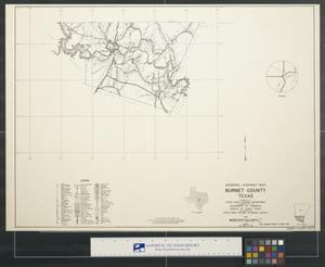 General highway map Burnet County Texas [Sheet 2]