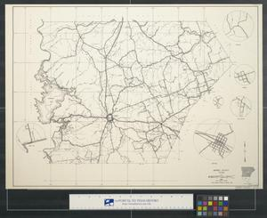 General highway map Burnet County Texas [Sheet 1]