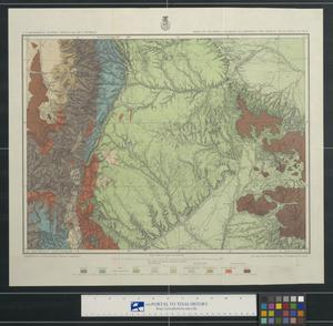Primary view of object titled 'Parts of southern Colorado and northern New Mexico: atlas sheet no. 70(A)'.