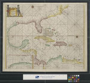 Primary view of Pascaerte Van Westindien De Vaste Kusten En de Eylanden