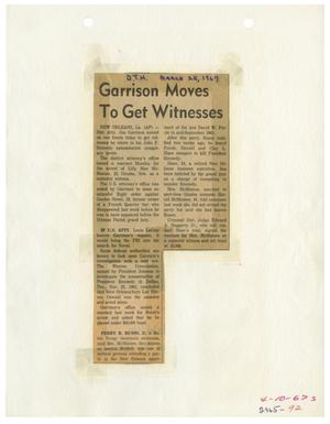Primary view of object titled '[Dallas Times Herald Clipping, March 25, 1967]'.