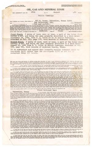 [Lease for Use of Land by Oxy Petroleum, Inc.]