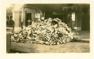 Primary view of object titled 'Clean-up week'.