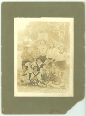 Primary view of object titled '[Campus Ward School Students]'.