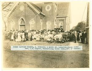 Primary view of object titled '[First Baptist Church of Longview]'.