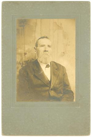 Primary view of object titled '[Reverend J. L. Terry]'.