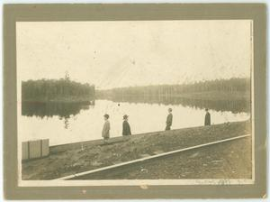 Primary view of object titled '[Campbell's Lake]'.