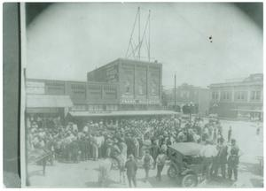 Primary view of object titled '[Frank Goldstein Store and City Meat Market]'.