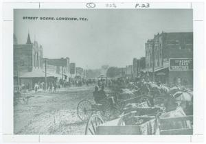 Primary view of object titled '[Downtown Longview]'.