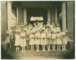 Primary view of object titled '[Longview School Graduation]'.