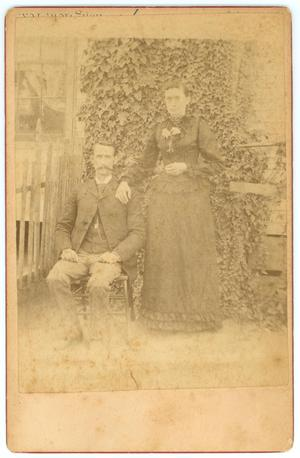 Primary view of object titled '[Albert and Ada Morgan]'.