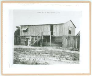 Primary view of object titled '[Gladewater Jailhouse]'.