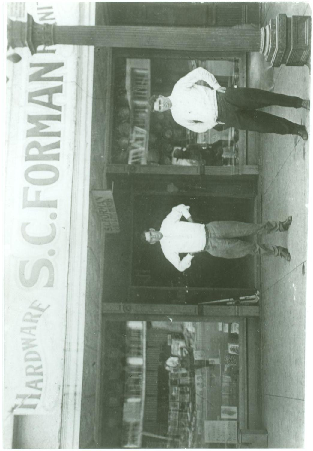 [S. C. Forman Hardware Store]                                                                                                      [Sequence #]: 1 of 2